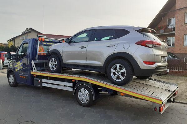 Transport pojazdów osobowych